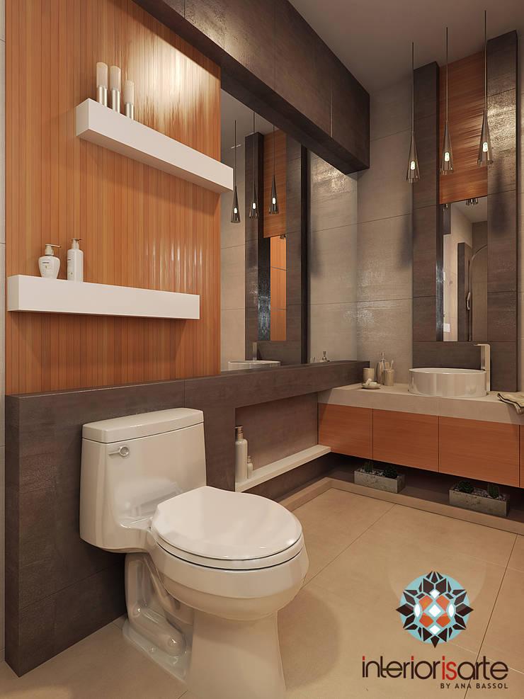 Baño Baños modernos de Interiorisarte Moderno