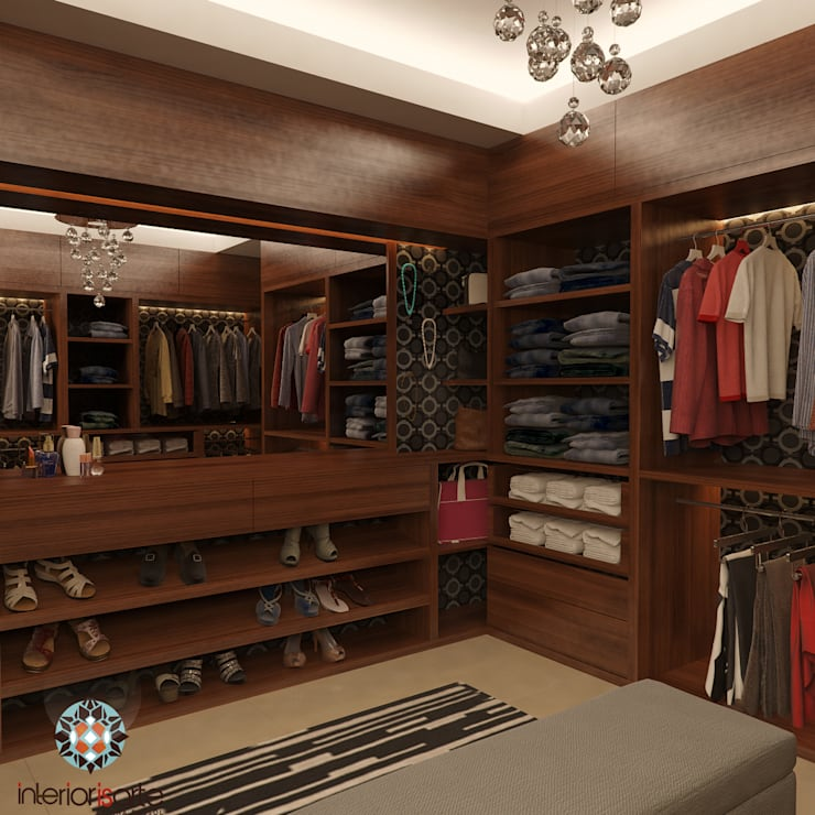 Closet Vestidor2: Vestidores y closets de estilo  por Interiorisarte