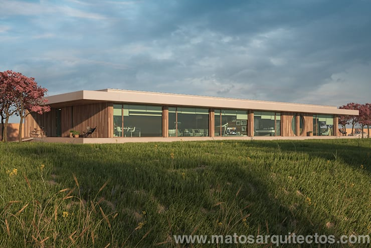 Дома в . Автор – Matos Architects