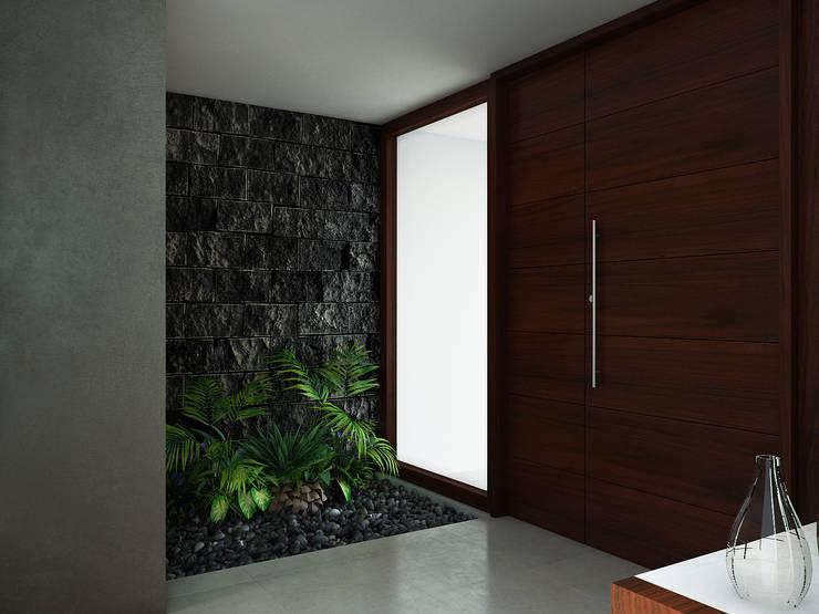 Residencia AC: Ventanas de estilo  por Interiorisarte