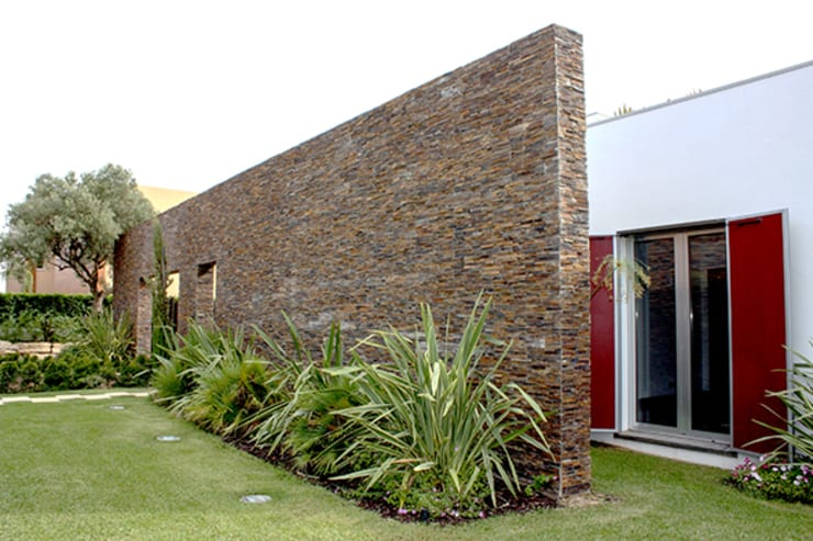 Houses by Matos Architects, Modern Stone