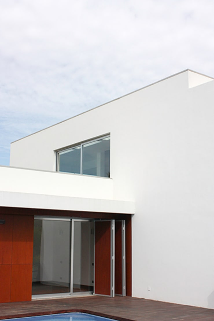 Houses by Matos Architects, Modern Wood-Plastic Composite