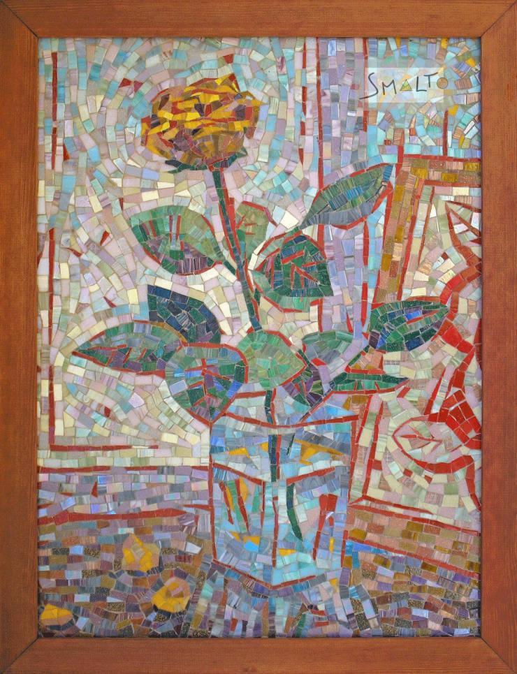 Мозаичная картина «Роаз»: Произведения искусства в . Автор – Мастерская художественной мозаики 'SMALTO'