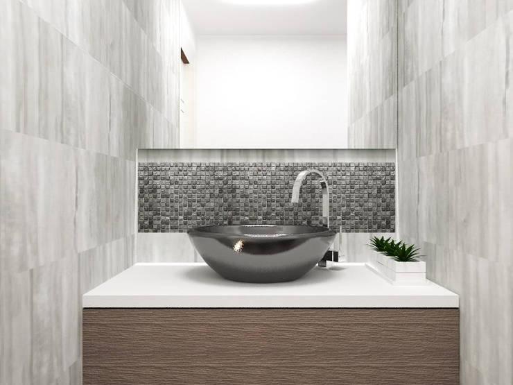 Diseño Baño: Baños de estilo  por LUOVA Interiorismo