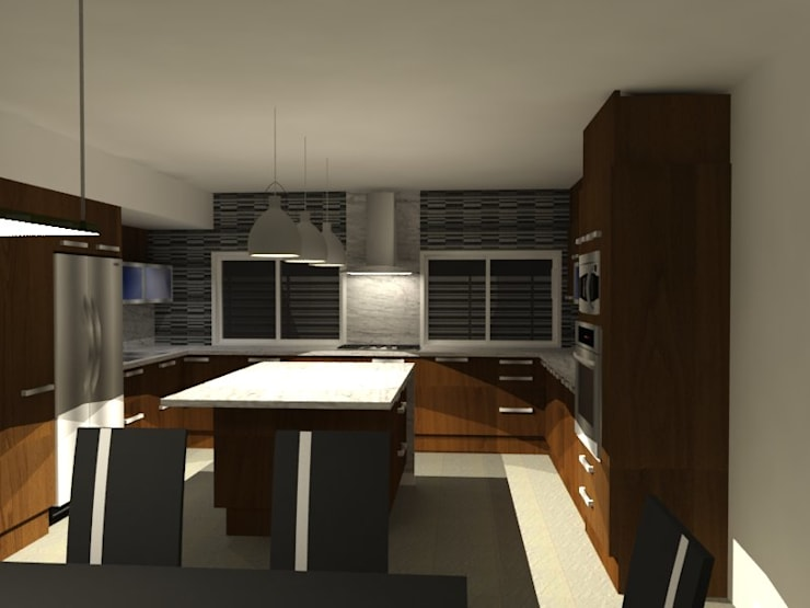 Kitchen by Arq. Jose F. Correa Correa, Minimalist
