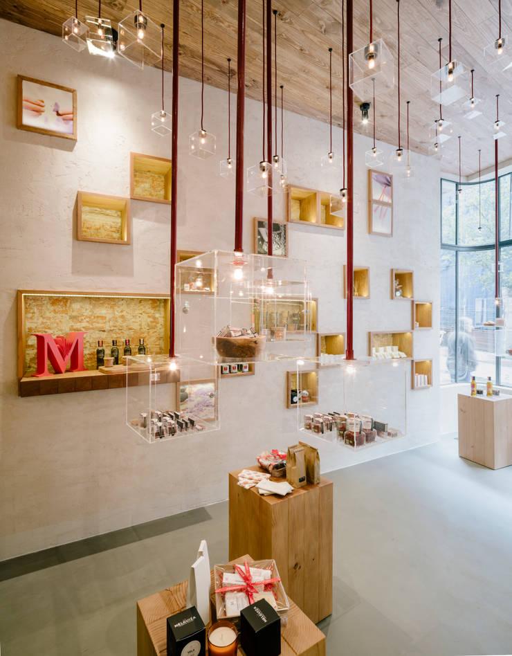 LA MELGUIZA: Oficinas y Tiendas de estilo  de Zooco Estudio