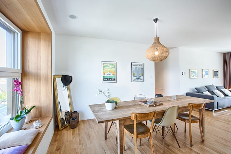 Dining room by Hunkeler Partner Architekten AG,