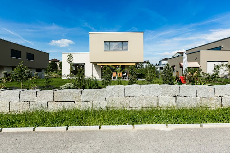 Casas de estilo moderno por Hunkeler Partner Architekten AG