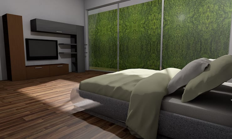 Bedroom by ARQUITECTURA MB&A