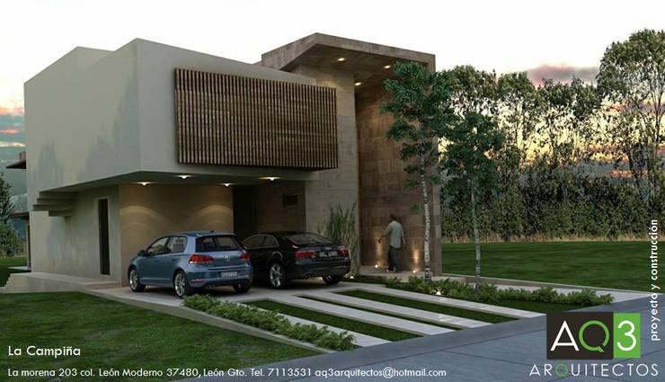 La Campiña : Casas de estilo  por AQ3 Arquitectos