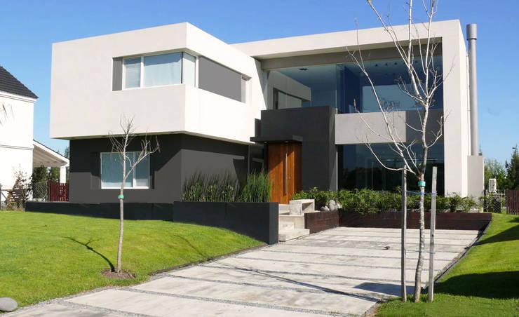 CASA BR - Estudio Fernandez+Mego: Casas de estilo  por Estudio Fernández+Mego