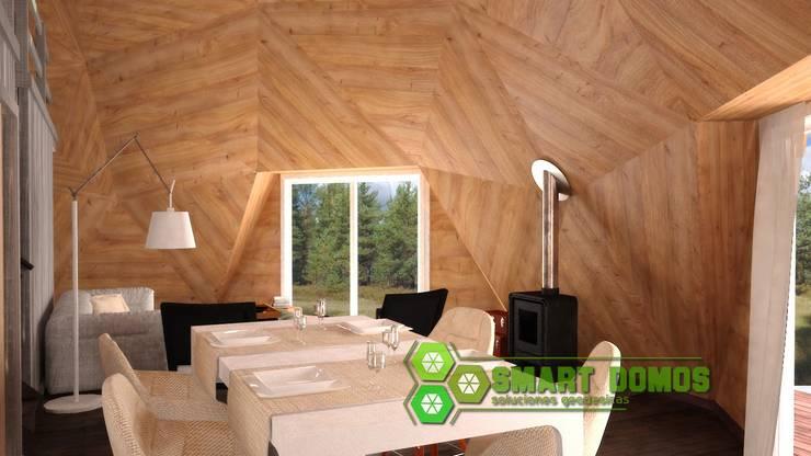 domo newen: Comedores de estilo  por smart domos