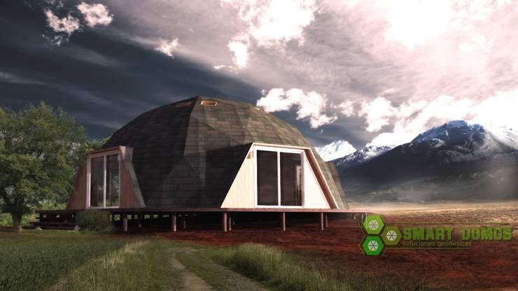 domo newen: Casas de estilo  por smart domos