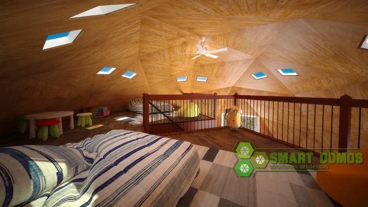 domo newen: Dormitorios de estilo  por smart domos