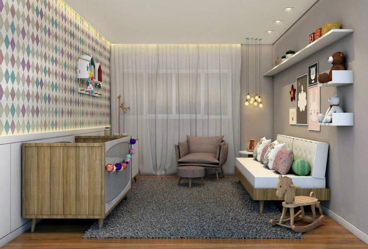 غرفة الاطفال تنفيذ Konverto Interiores + Arquitetura