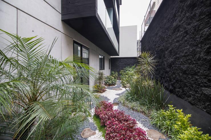 Galileo 350: Jardines de estilo moderno por PHia