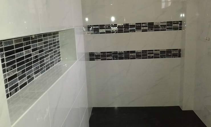 baño:  de estilo  por construcciones y remodelaciones jaimes