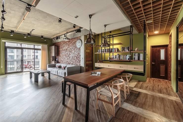 Projekty,  Salon zaprojektowane przez KD Panels