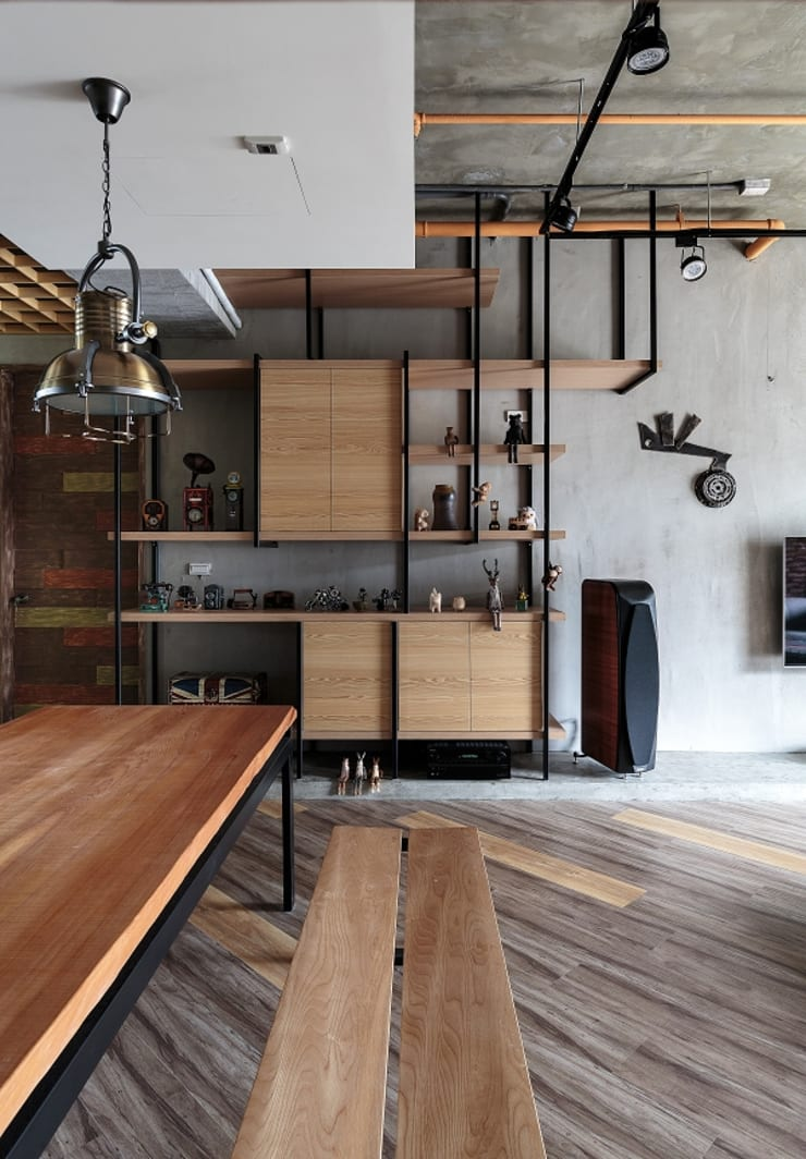[HOME] Yu Chu Interior Design: KD Panels의  거실,