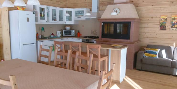 Камин-мангал: Кухня в . Автор – Moko barbecue