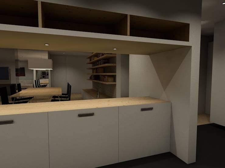 Remodelação Apartamento T3.: Casas  por Casas com Estilo - Obras