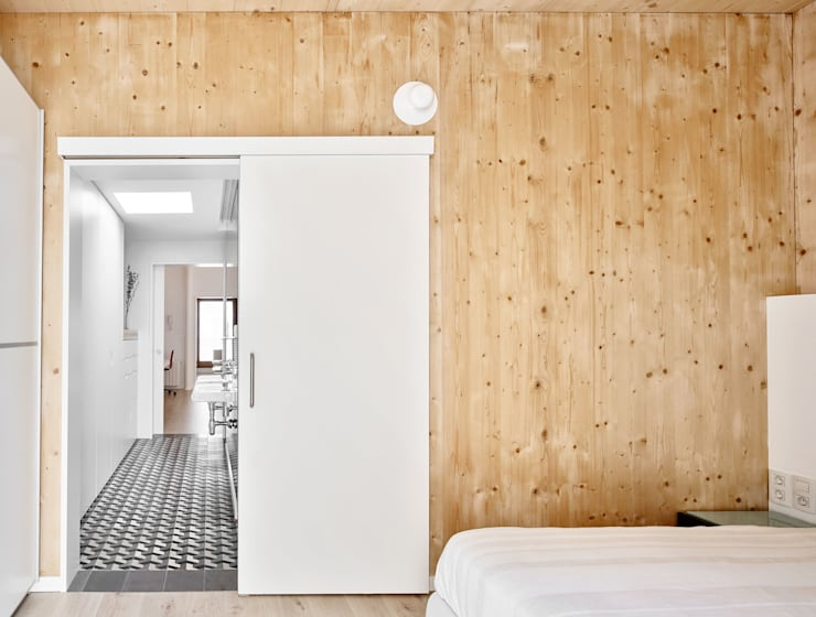 ห้องนอน by Vallribera Arquitectes