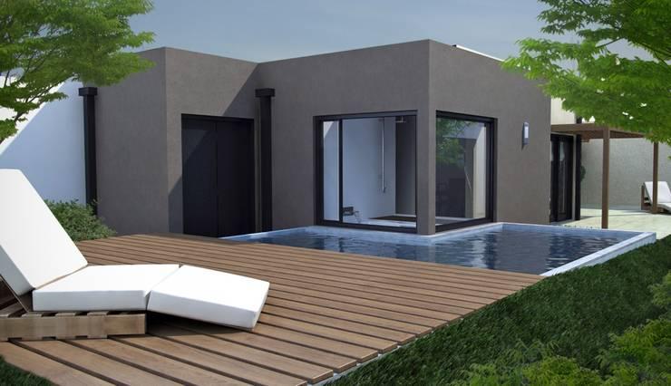 Moderne Pools von laura zilinski arquitecta Modern