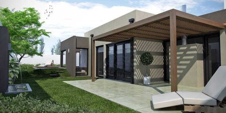 Moderner Garten von laura zilinski arquitecta Modern