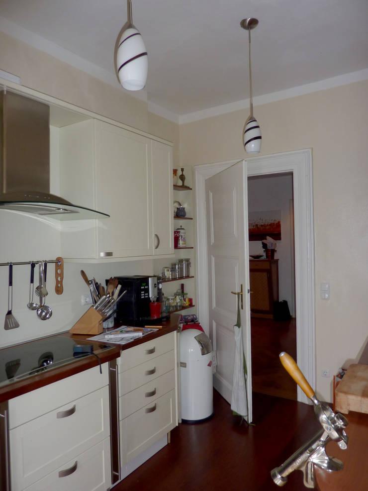 Küche - vorher:   von reichl---beraten-planen-verwirklichen