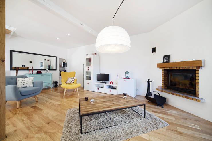 غرفة المعيشة تنفيذ O2 Concept Architecture