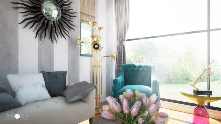 Sala de estar para músico: Salas de estilo  por MRamos