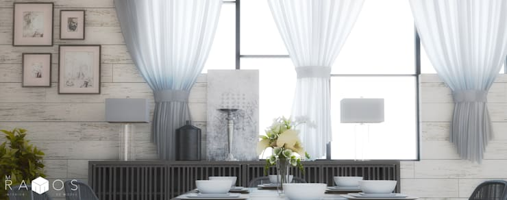 Comedor Contemporáneo: Comedores de estilo  por MRamos