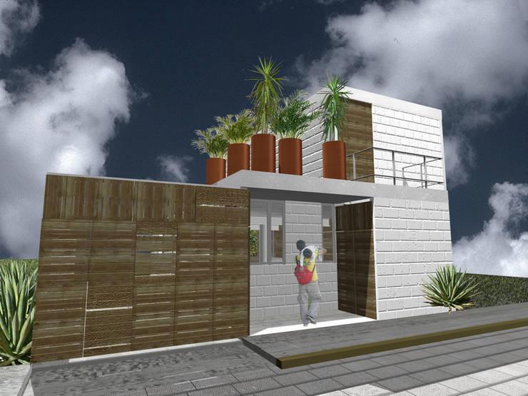 Casa Tepoztlán - RIMA Arquitectura: Casas de estilo  por RIMA Arquitectura