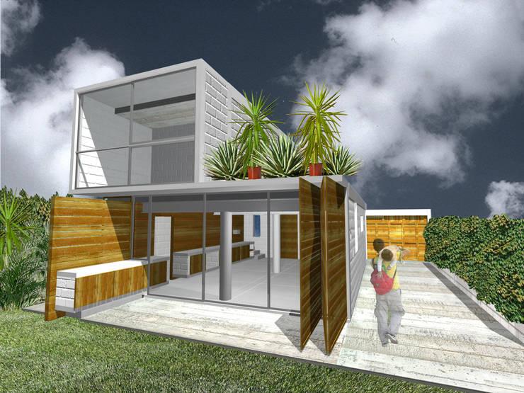 Casa Tepoztlán - RIMA Arquitectura Casas modernas de RIMA Arquitectura Moderno