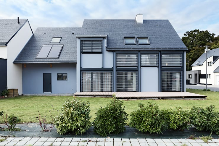 Casa passiva in stile  di O2 Concept Architecture