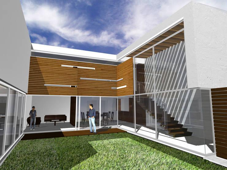 Casa Real de Tétela - RIMA Arquitectura: Casas de estilo  por RIMA Arquitectura