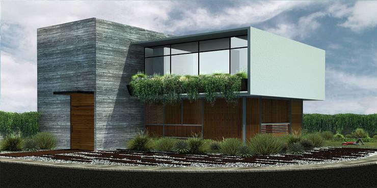 C&A - RIMA Arquitectura Casas modernas de RIMA Arquitectura Moderno