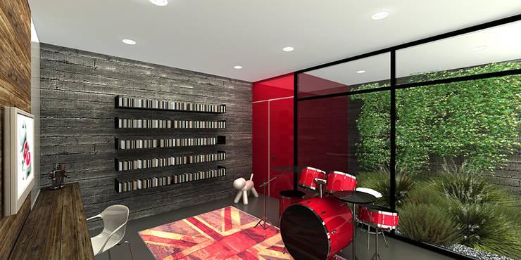 C&A - RIMA Arquitectura: Salas de estilo  por RIMA Arquitectura