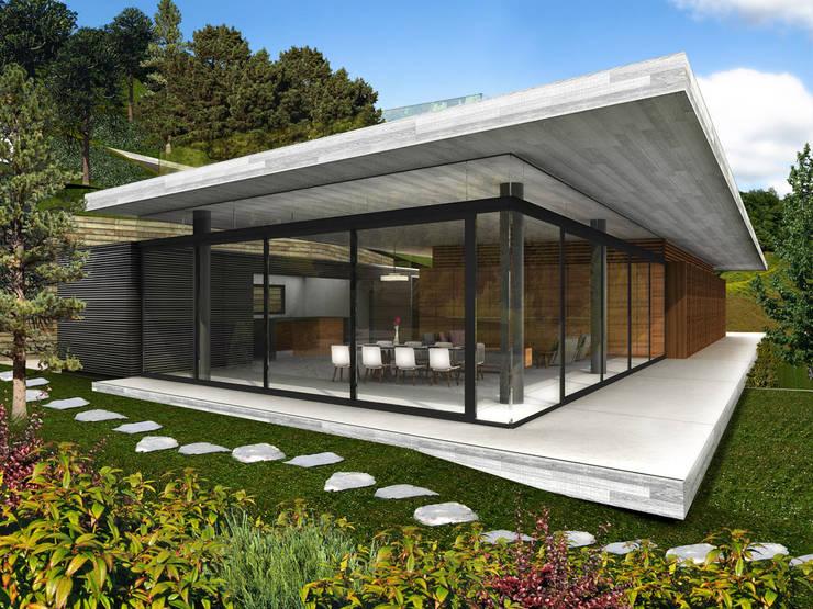 Casa Estadía - RIMA Arquitectura: Casas de estilo  por RIMA Arquitectura