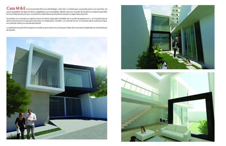 Projekty,   zaprojektowane przez Flores Rojas Arquitectura