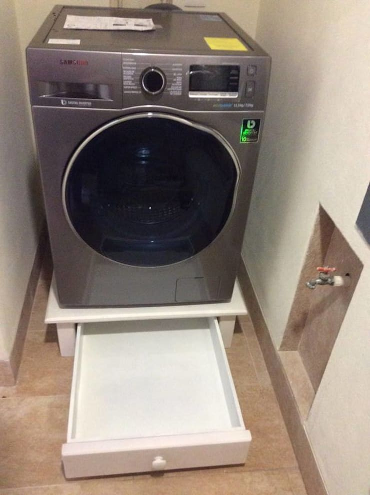Base para lavadora tipo cajon: Hogar de estilo  por Natureflow®