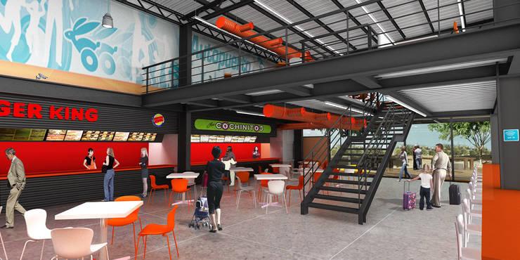 APS - RIMA Arquitectura: Comedores de estilo  por RIMA Arquitectura
