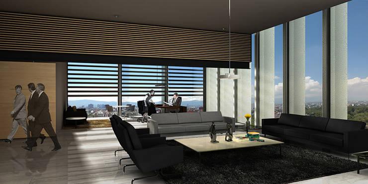 Sanluis Rassini - RIMA Arquitectura: Estudios y oficinas de estilo  por RIMA Arquitectura