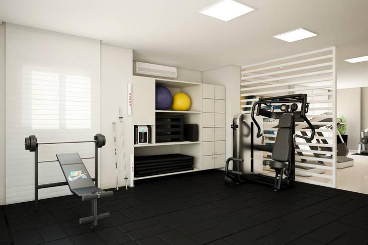 Gym by Tárcyla & Savane Arquitetas Associadas