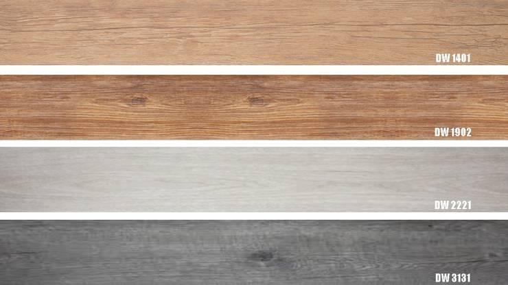 Luxury Vinyl Floor 3mm DISPONIBLES..!!: Paredes y pisos de estilo  por THE FLOORING COMPANY S.A