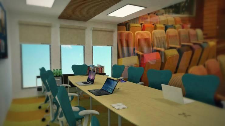 Sala de juntas: Salas multimedia de estilo  por Ingenieros y Arquitectos Continentes