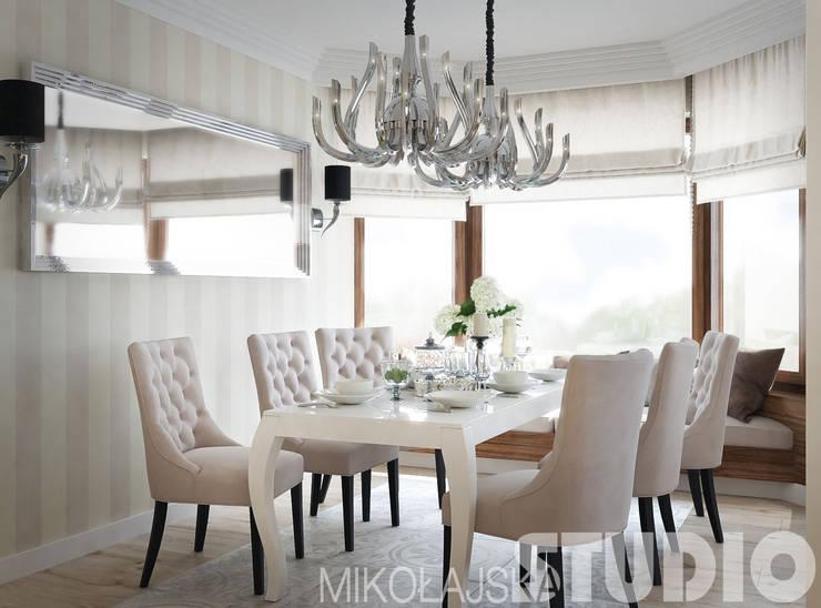 new york style interior: styl , w kategorii  zaprojektowany przez MIKOŁAJSKAstudio