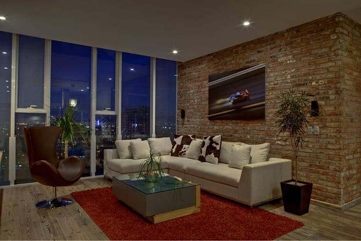 Livings de estilo moderno por RIMA Arquitectura