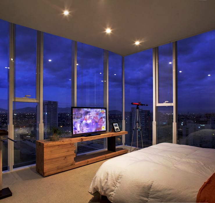 Dormitorios de estilo moderno por RIMA Arquitectura