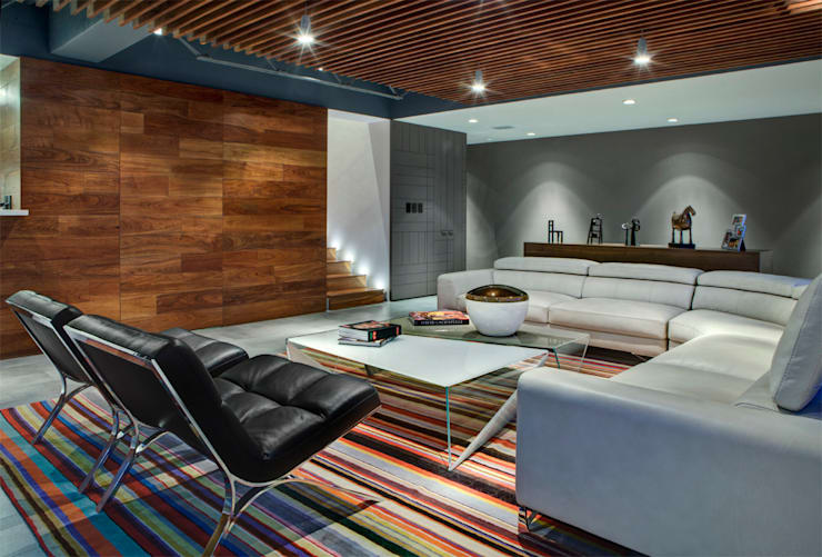 Living room by RIMA Arquitectura
